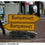 Links, rechts oder geradeaus bei sprachlichen Zweifelsfällen