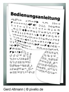Bedienungsanleitung by Gerd Altmann / pixelio.de