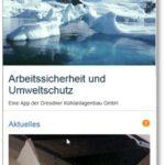 Eine App für Arbeitssicherheit und Umweltschutz