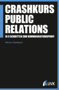 "Buchcover: Steinbach: ""Crashkurs Public Relations"""