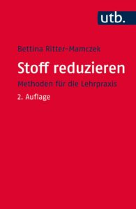"""Titelseite: Ritter-Mamczak """"Stoff reduzieren"""""""