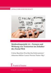 Buchcover Medienlinguistik 3.0