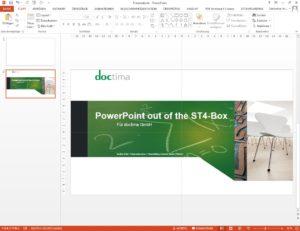 PowerPoint Folie aus Schema ST4 heraus generieren
