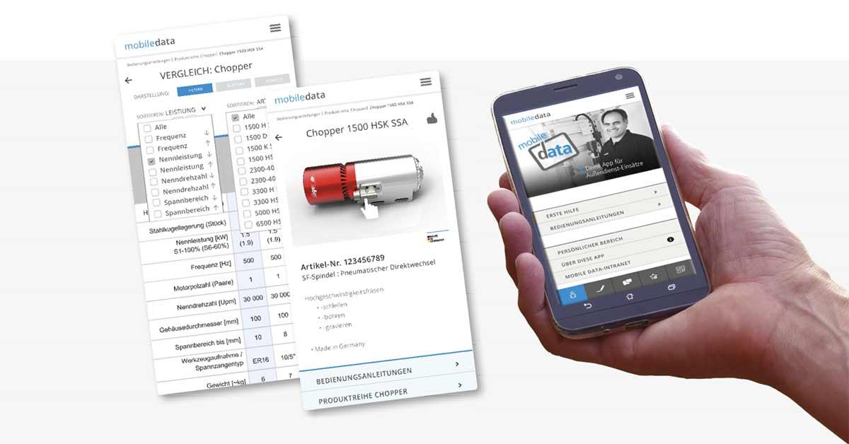 mobile Dokumentation digital statt Papier