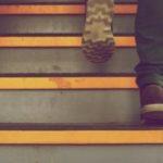 Jeder Schritt ein Vorsprung