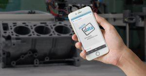 Startbildschirm mobile Dokumentation App