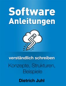 """Buchcover """"Software-Anleitungen verständlich schreiben"""""""