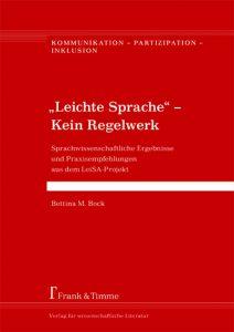 """Rezension """"Leiche Sprache – Kein Regelwerk"""""""