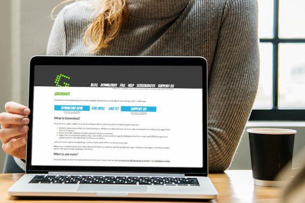 Screenshots mit Greenshot für Windows