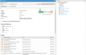 Screenshot ContentRuleset von doctima