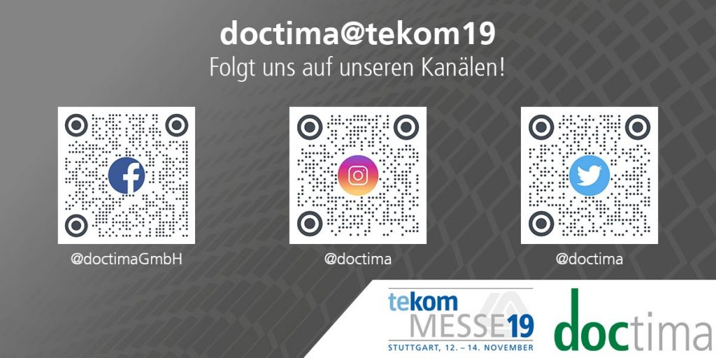 doctima Social Media Kanäle