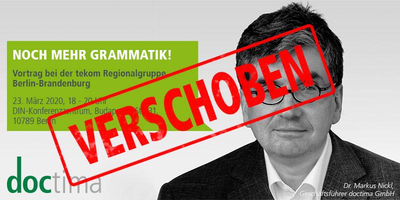 Vortrag Markus Nickl Grammatik verschoben