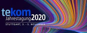 tekom Jahrestagung 2020, Stuttgart, 3.-5.11.2020