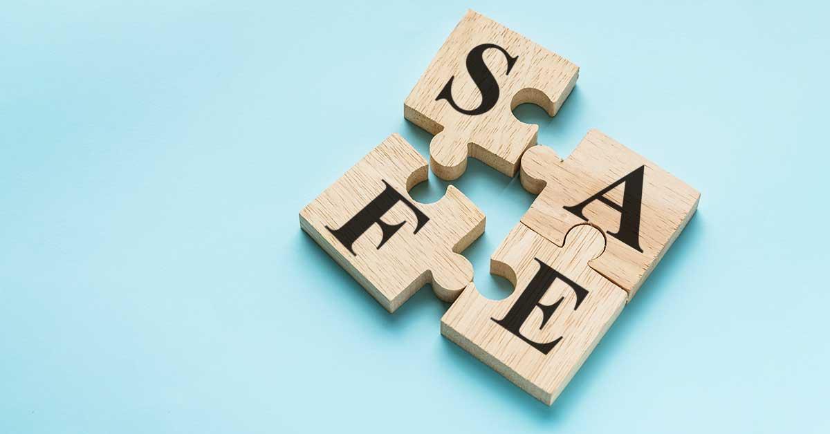 SAFE-Struktur auf englisch, technische Redaktion