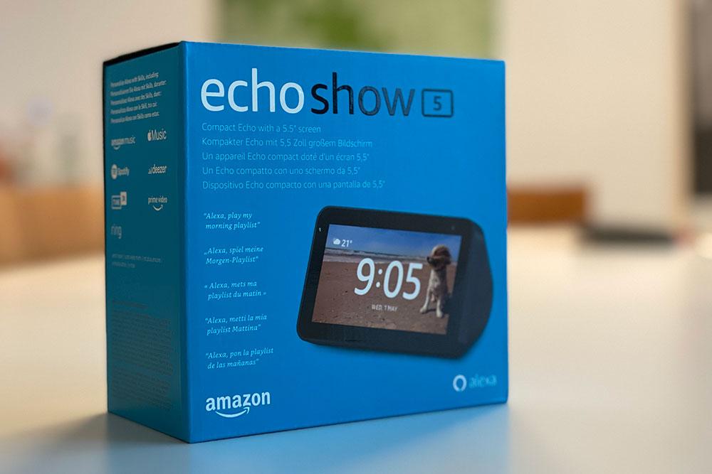 Amazon Echo Show 5, Verlosung tekom 2020, doctima