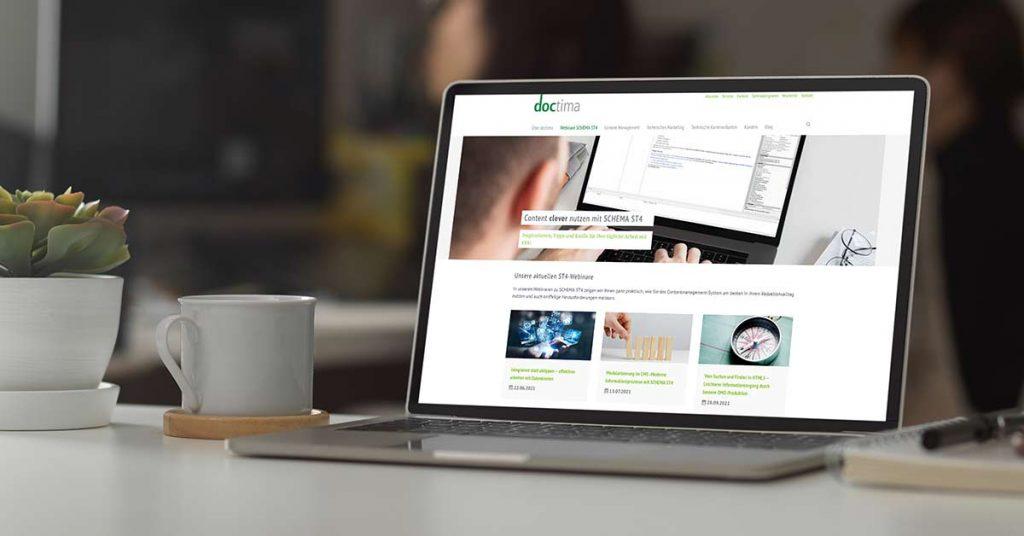Neue Webinare von doctima zu SCHEMA ST4