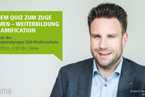 Vortrag Gamification, Benjamin Rauschenberger, tekom Regionalgruppe Süd-Niedersachsen